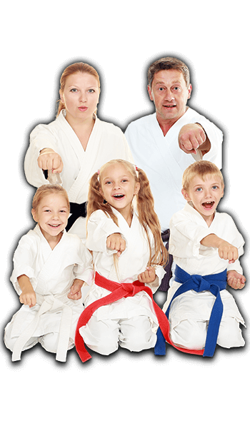 Martial Arts Lessons for Families in _Citrus Heights_ _CA_ - Sitting Group Family Banner