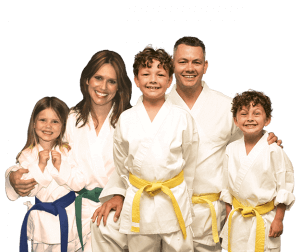 Martial Arts Lessons for Families in _Citrus Heights_ _CA_ - Group Family for Martial Arts Footer Banner