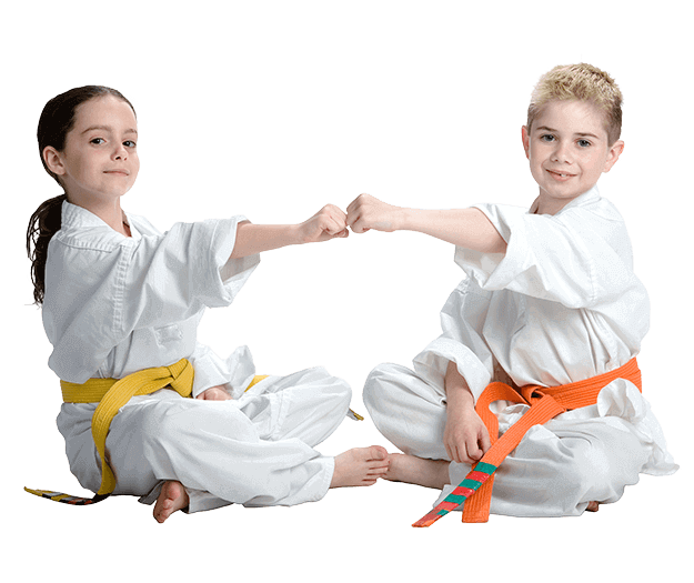Martial Arts Lessons for Kids in _Citrus Heights_ _CA_ - Kids Greeting Happy Footer Banner