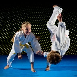 Martial Arts Lessons for Kids in _Citrus Heights_ _CA_ - Judo Toss Kids Girl