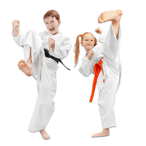 Martial Arts Lessons for Kids in _Citrus Heights_ _CA_ - Kicks High Kicking Together