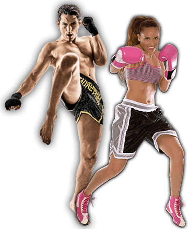 Fitness Kickboxing Lessons for Adults in _Citrus Heights_ _CA_ - Kickboxing Men and Women Banner Page