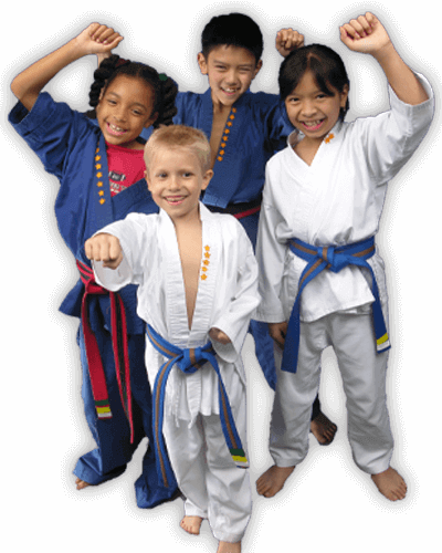 Martial Arts Summer Camp for Kids in _Citrus Heights_ _CA_ - Happy Group of Kids Banner Summer Camp Page